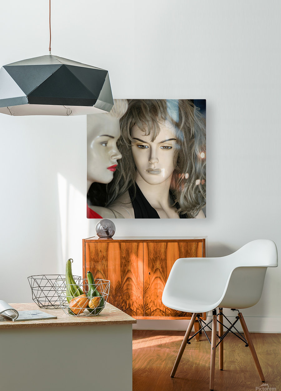 Mannequin Dreams  HD Metal print with Floating Frame on Back