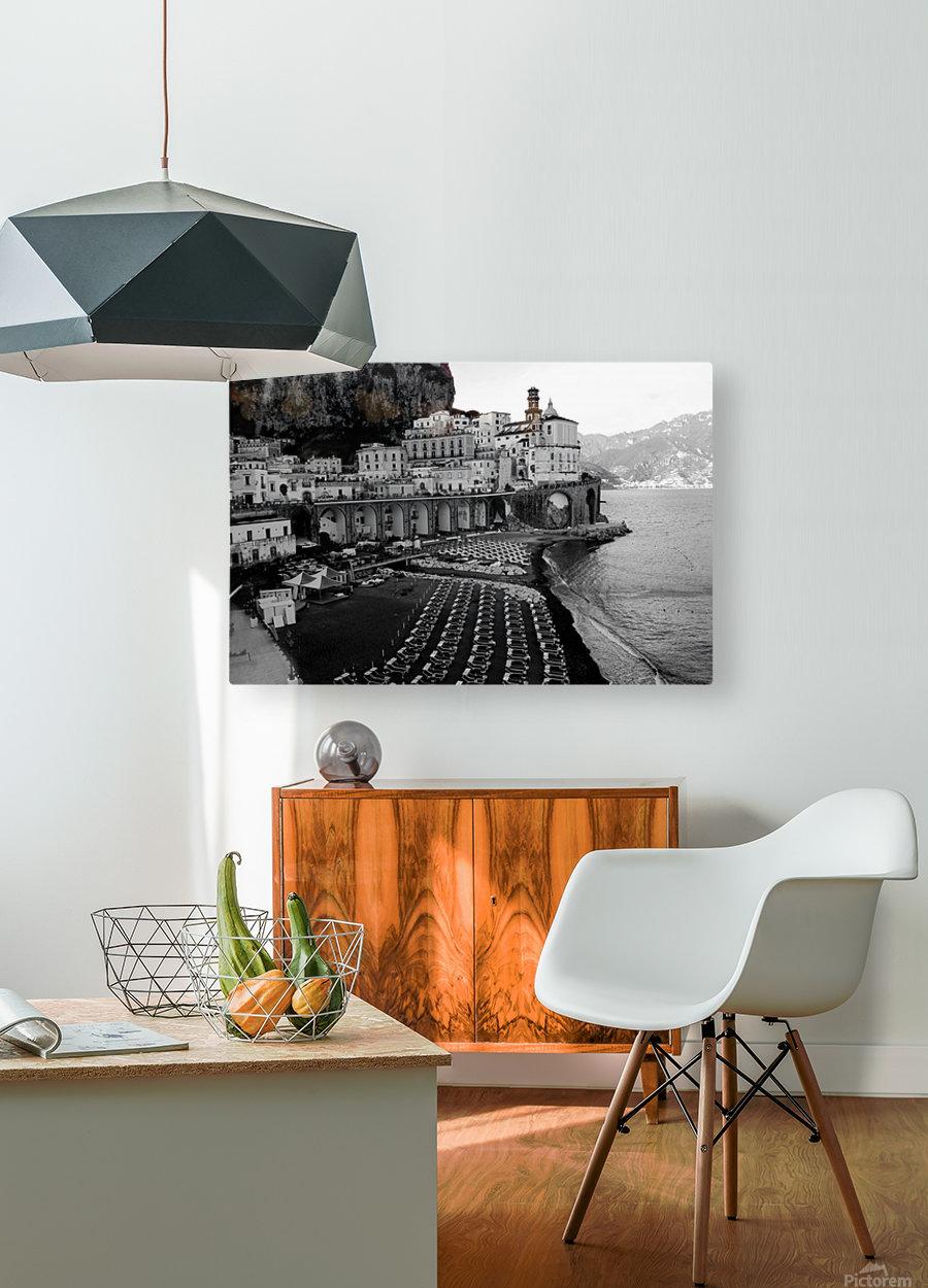 Atrani Village  HD Metal print with Floating Frame on Back