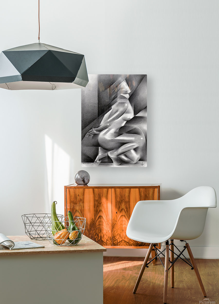 Roundism – 11-01-18   HD Metal print with Floating Frame on Back