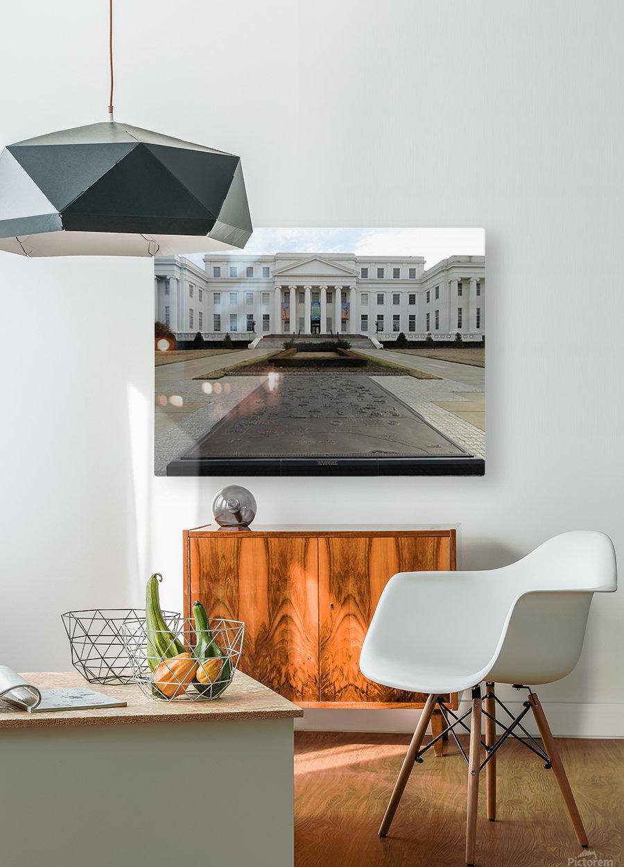 ALABAMA ARCHIVES BUILDING  HD Metal print with Floating Frame on Back