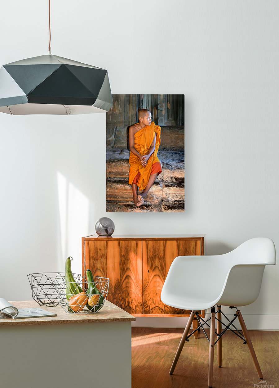 Angkor Wat Cambodia  HD Metal print with Floating Frame on Back