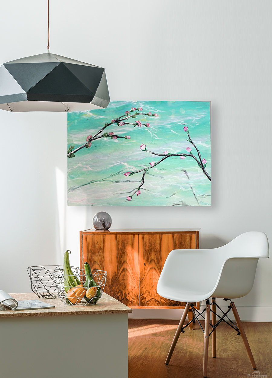 Spring is in the air  HD Metal print with Floating Frame on Back