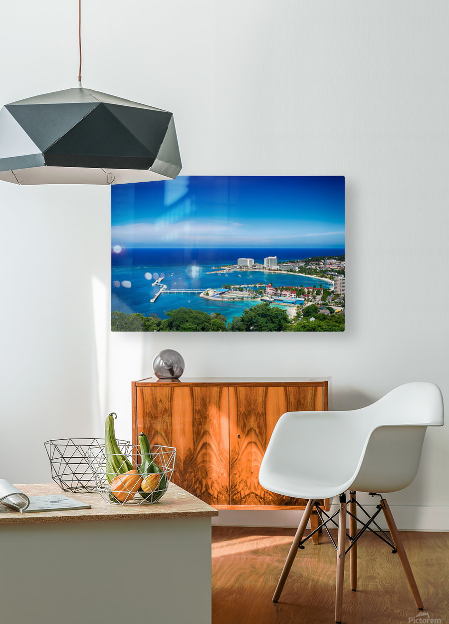 Ocho Rios  HD Metal print with Floating Frame on Back