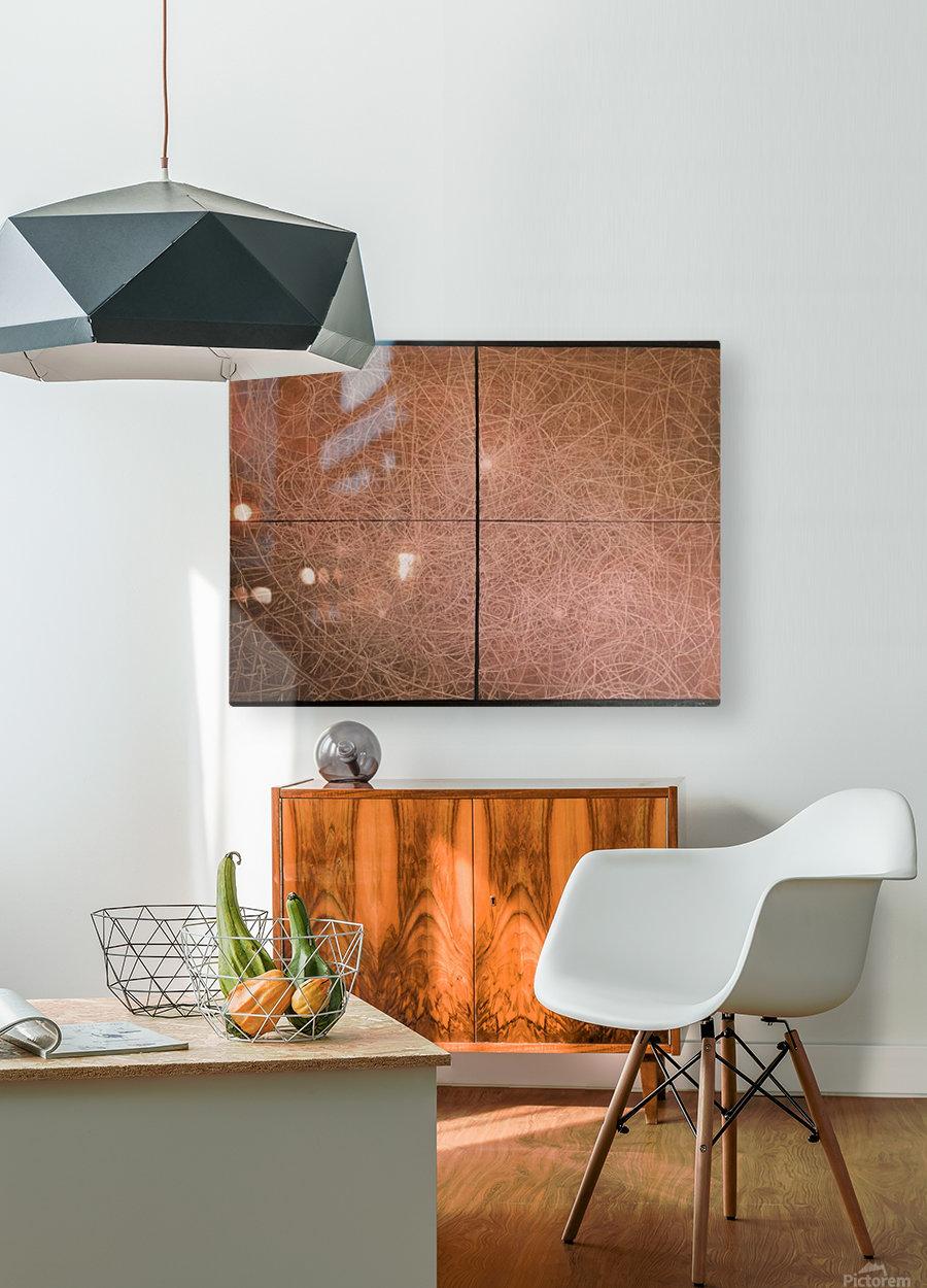 Spaceship   2016  HD Metal print with Floating Frame on Back