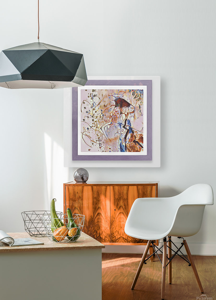 Si Bes  HD Metal print with Floating Frame on Back