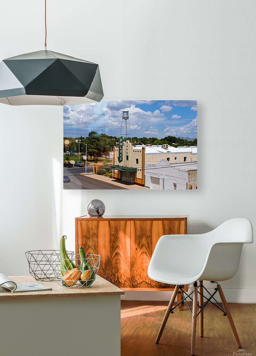 Palace  HD Metal print with Floating Frame on Back