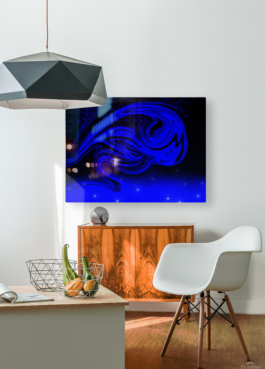 Wave Of Destraction  HD Metal print with Floating Frame on Back