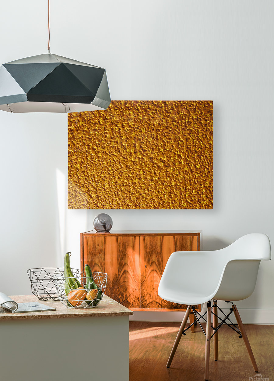 Wall Texture  HD Metal print with Floating Frame on Back