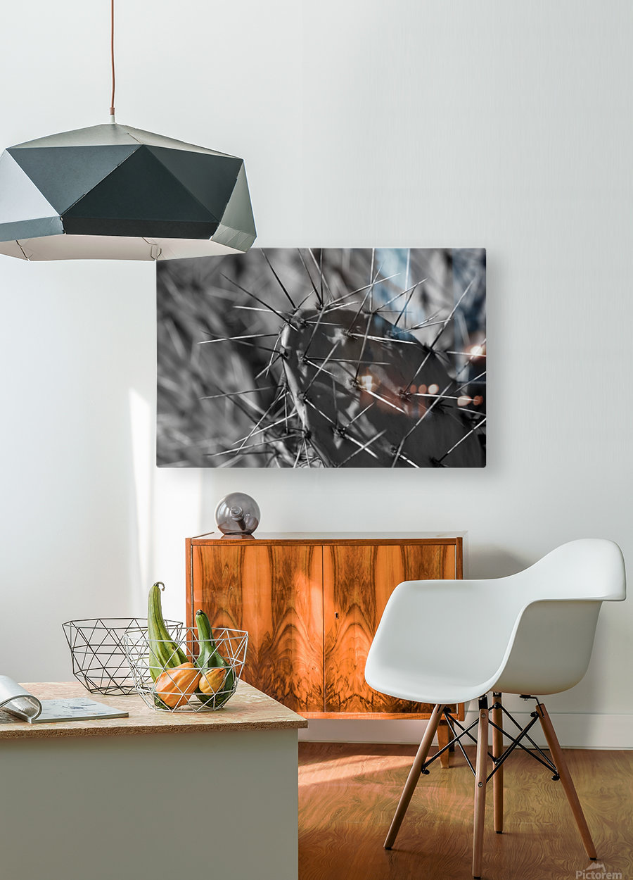 Prickly Pear  HD Metal print with Floating Frame on Back