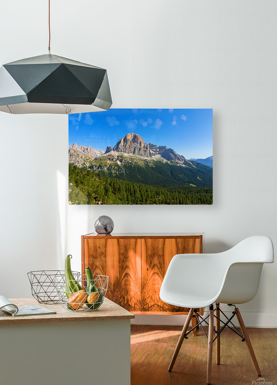 Dolomiti  HD Metal print with Floating Frame on Back