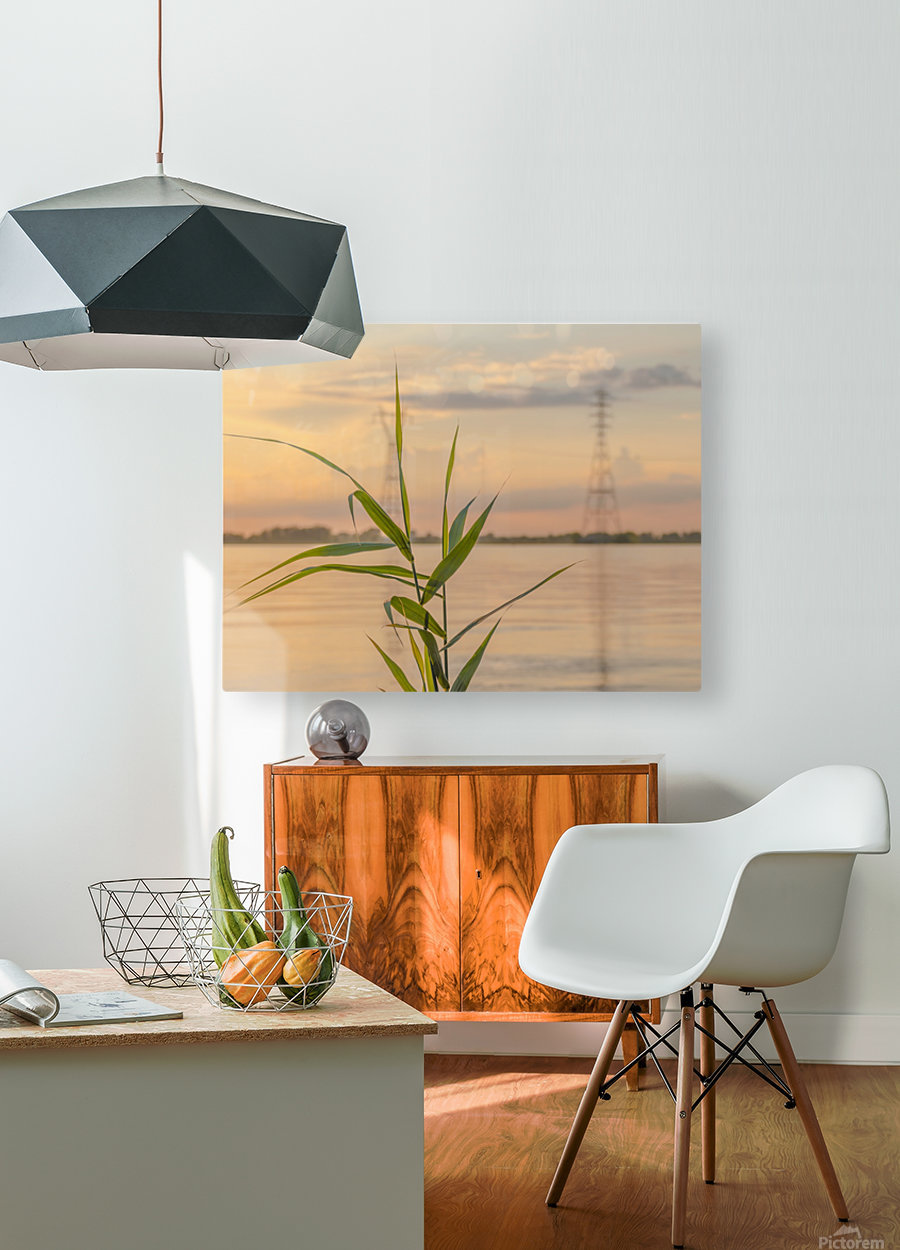 The force of nature  -  Force de la nature  HD Metal print with Floating Frame on Back
