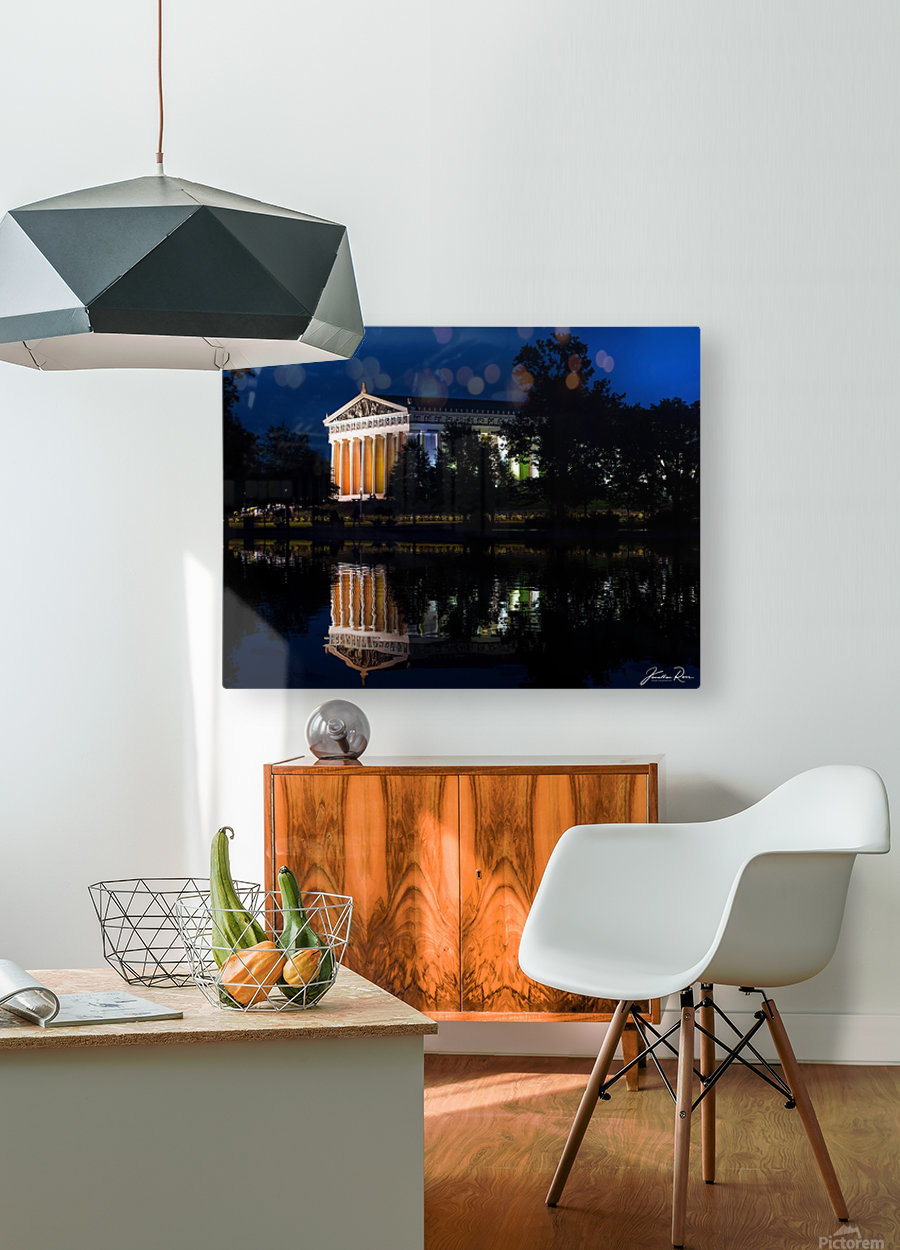 Parthenon in Nashville  HD Metal print with Floating Frame on Back