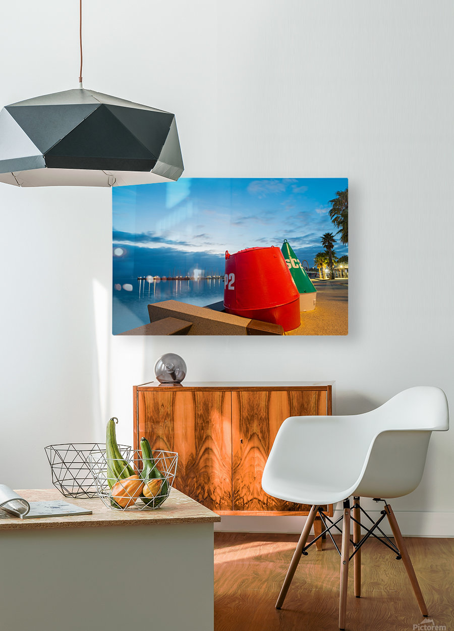 Geelong Waterfront Pre Dawn  HD Metal print with Floating Frame on Back