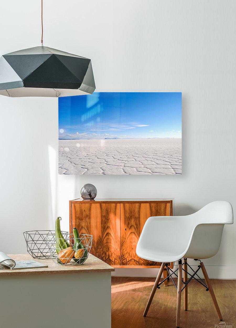 Salt Bae  HD Metal print with Floating Frame on Back