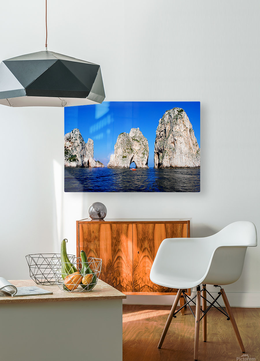 Three Sirens  HD Metal print with Floating Frame on Back
