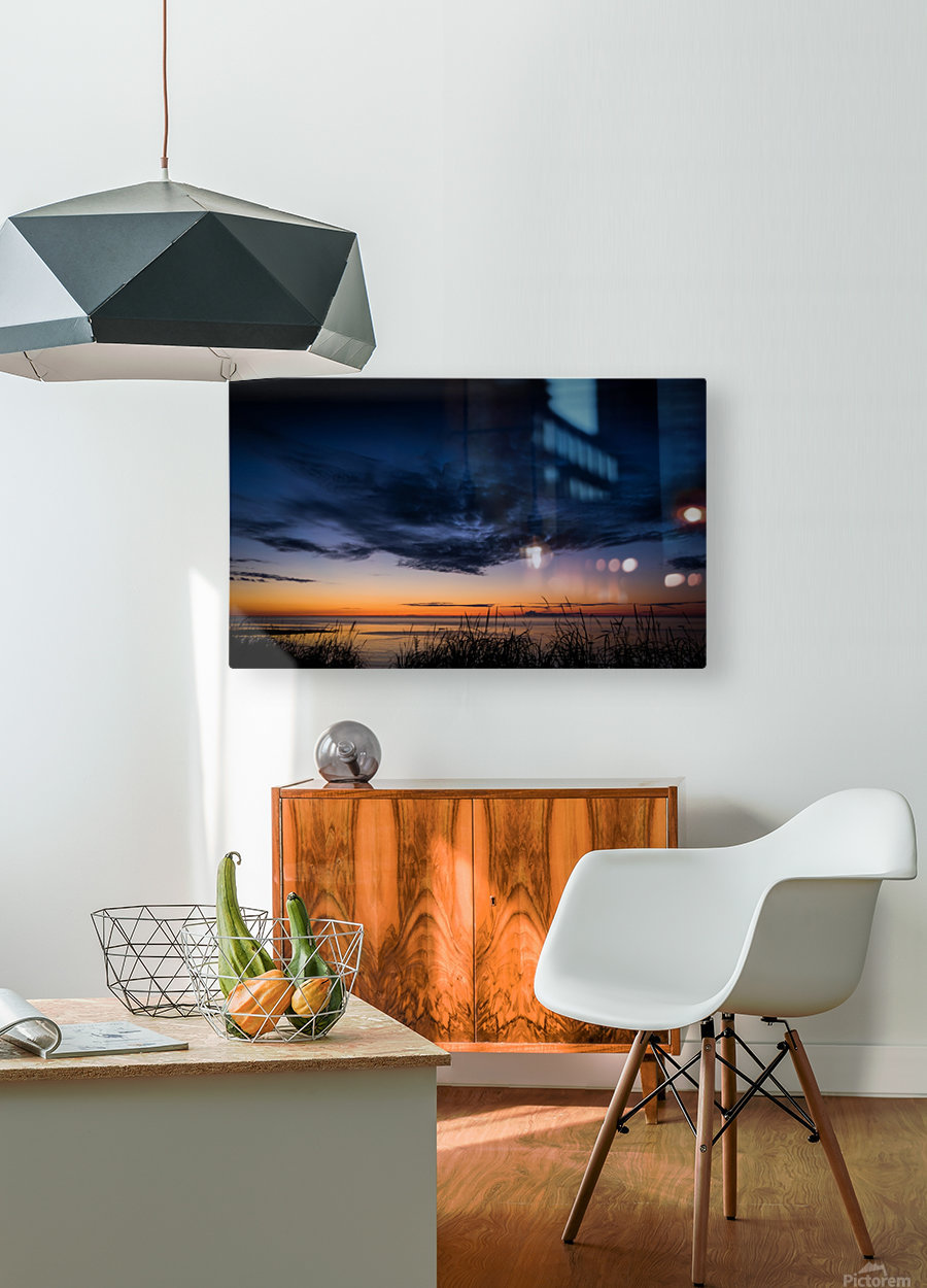 Blue Cloud - Nuage Bleu  HD Metal print with Floating Frame on Back