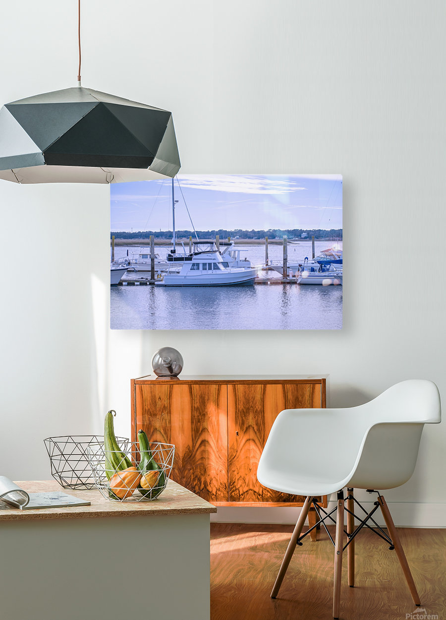 At Harris C Chember  HD Metal print with Floating Frame on Back