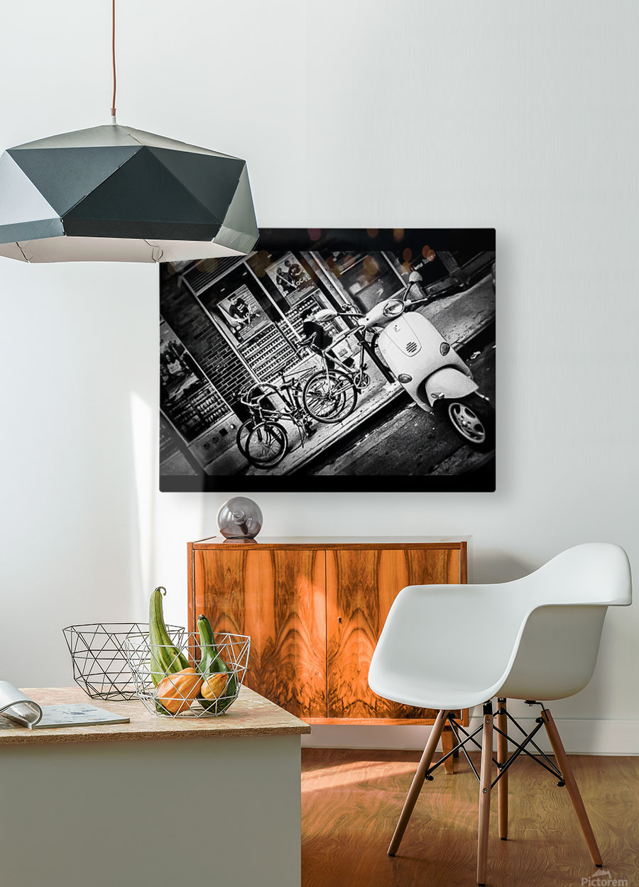 Destination Unknown  HD Metal print with Floating Frame on Back
