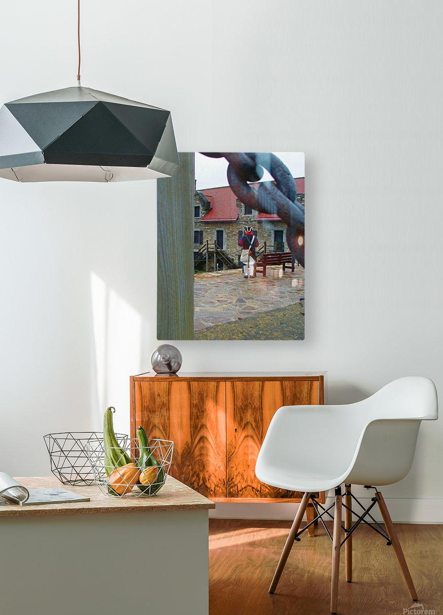 Ticondaroga  HD Metal print with Floating Frame on Back