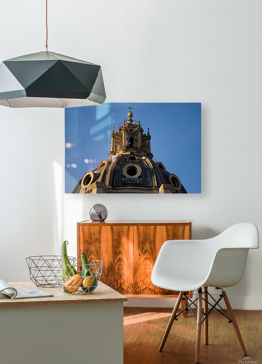 Italy with love  HD Metal print with Floating Frame on Back