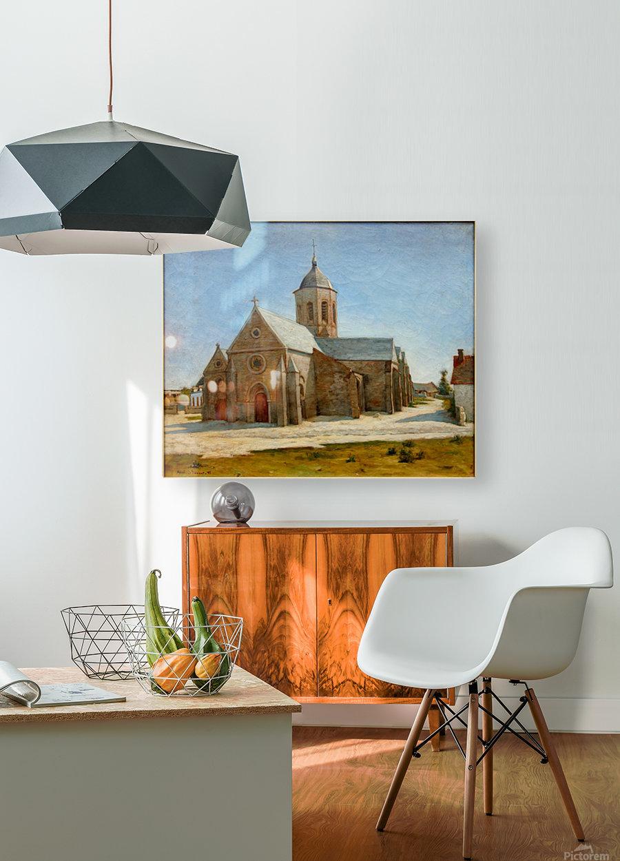 Dunkerque musee BA lesidaner etaple eglise  HD Metal print with Floating Frame on Back