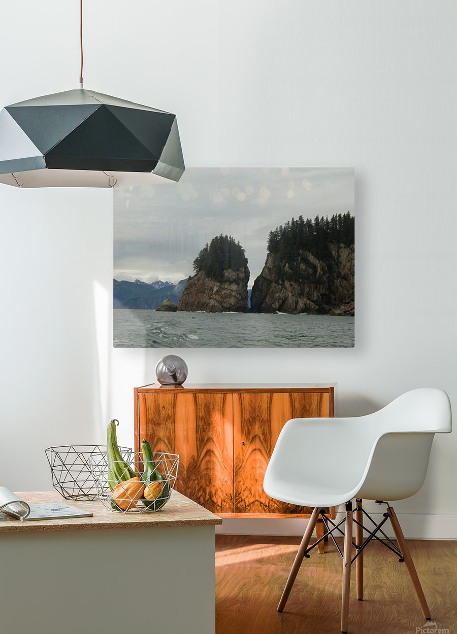 Rocks  HD Metal print with Floating Frame on Back