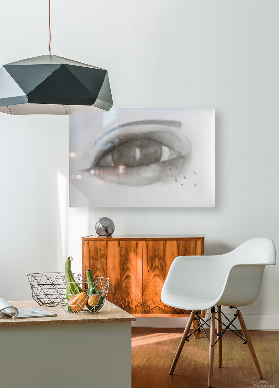 VCumper Birds in the eye 2018  HD Metal print with Floating Frame on Back