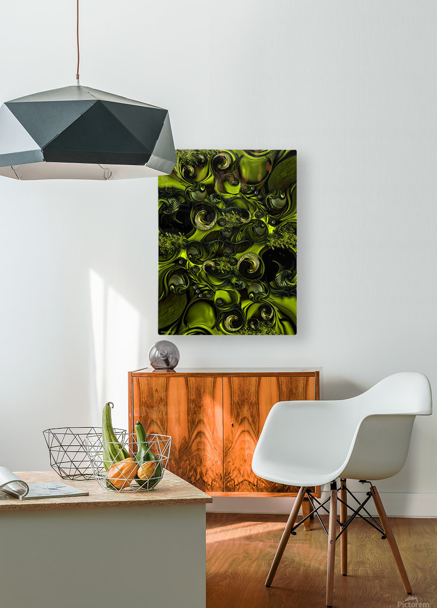 The Tender Matter  HD Metal print with Floating Frame on Back