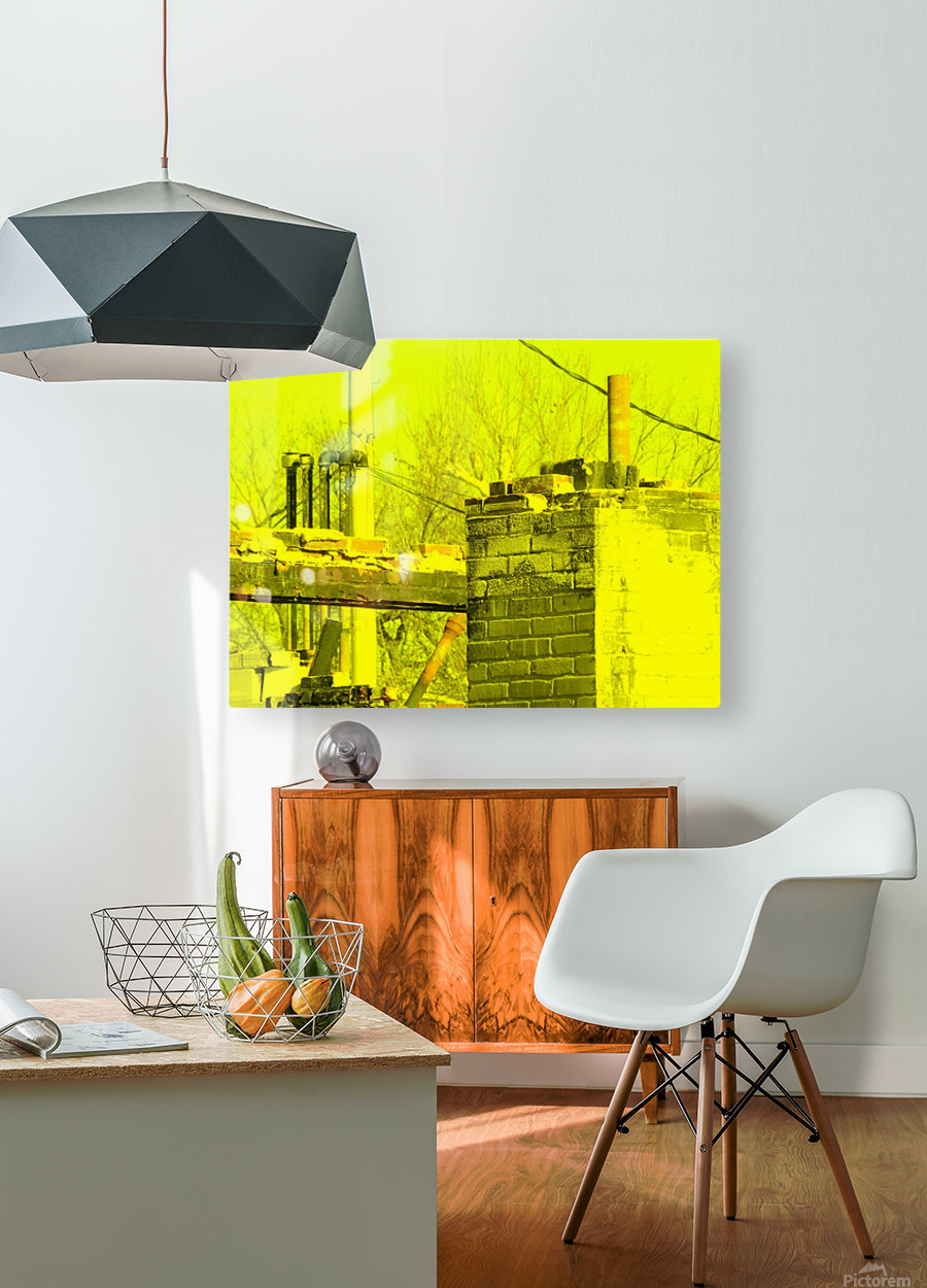 A (14)  HD Metal print with Floating Frame on Back