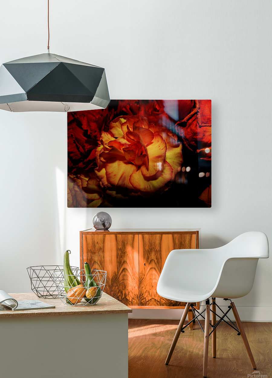 D (8)  HD Metal print with Floating Frame on Back