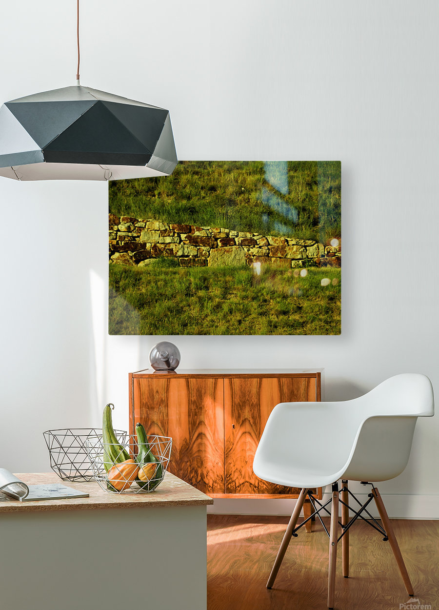 G (10)  HD Metal print with Floating Frame on Back