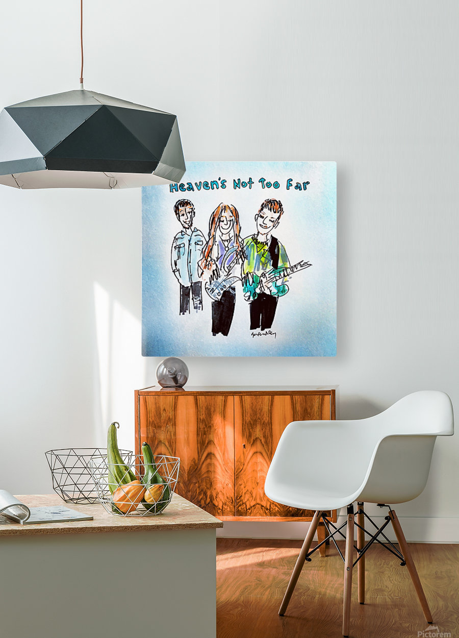 We Three - AGT 2018  HD Metal print with Floating Frame on Back
