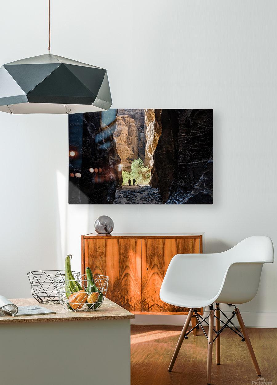 Among the Giants  HD Metal print with Floating Frame on Back