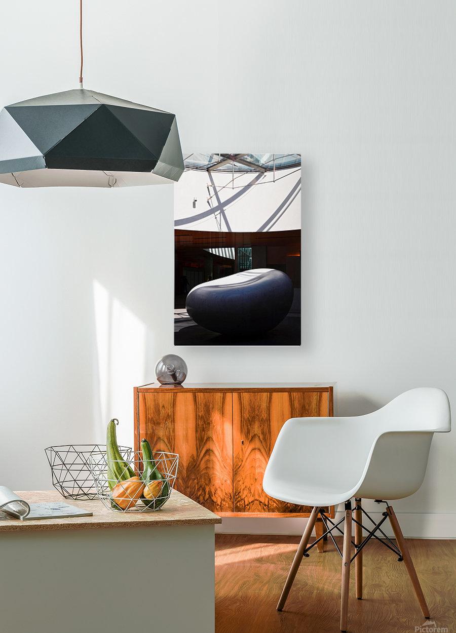 Tokyo Sculpture  HD Metal print with Floating Frame on Back