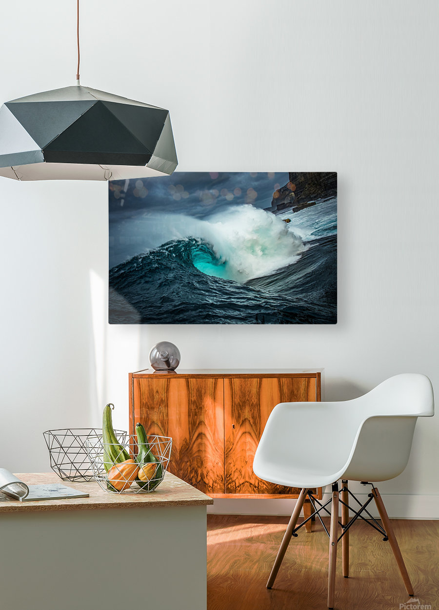 Dramatic Shippies  HD Metal print with Floating Frame on Back