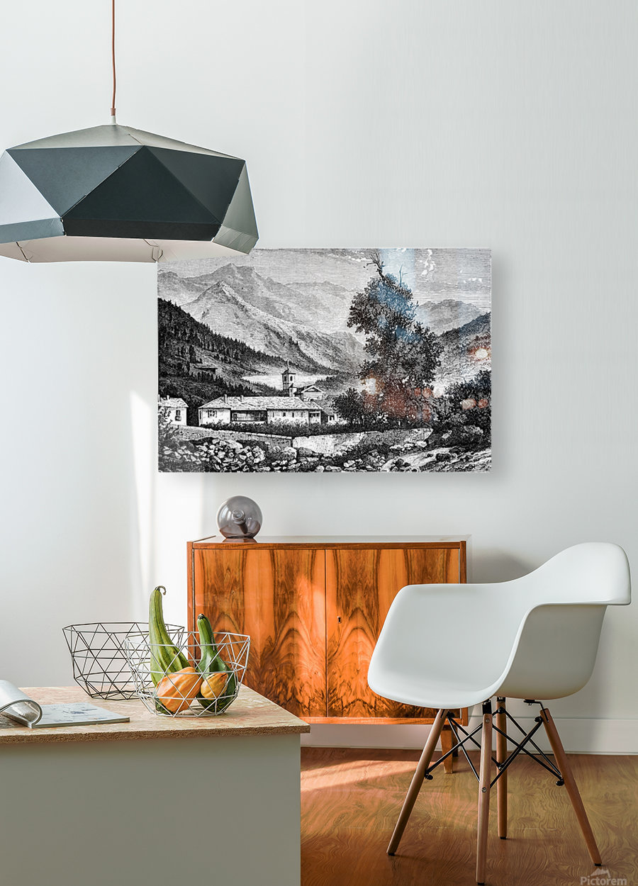 Bardonecchia View_OSG  HD Metal print with Floating Frame on Back