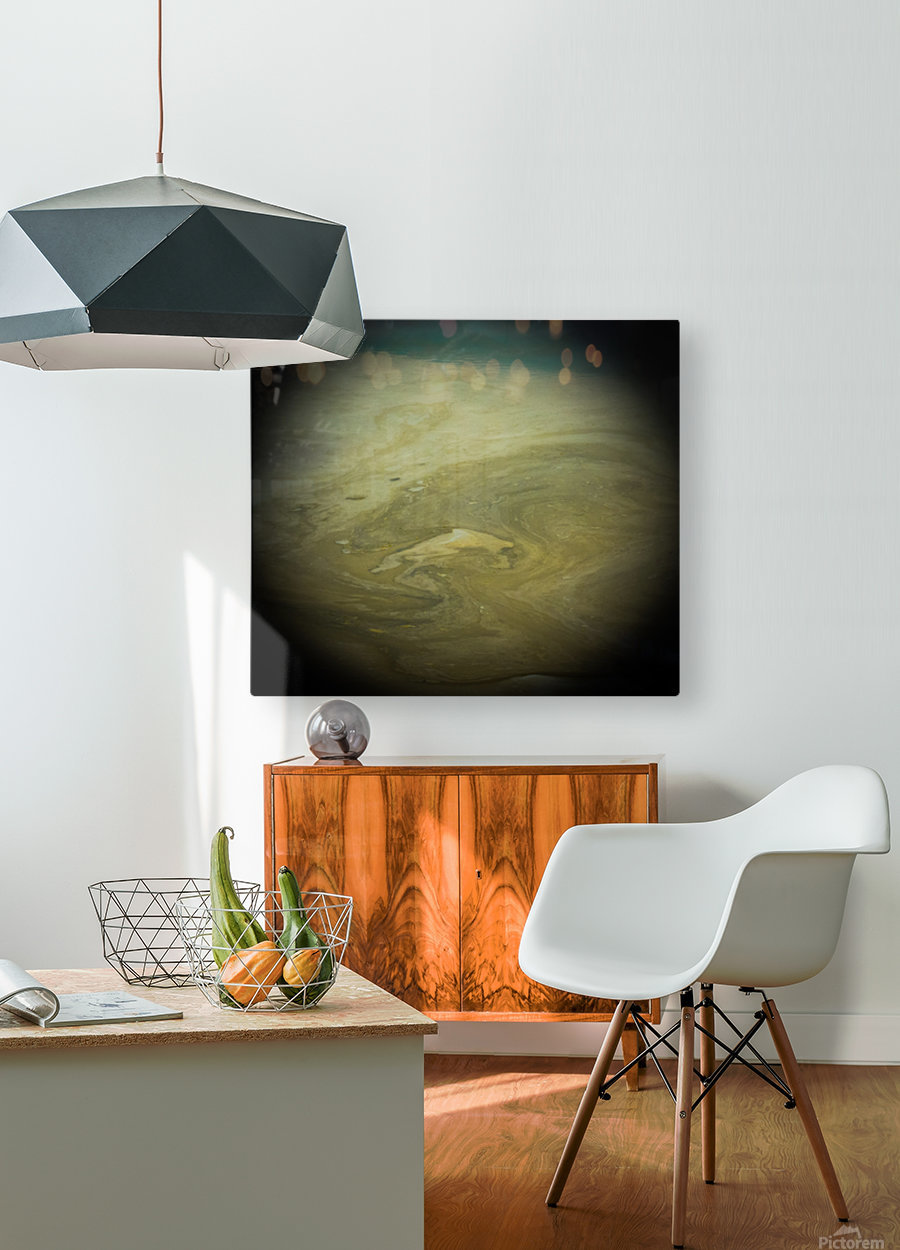 Another World - Un Autre Monde  HD Metal print with Floating Frame on Back
