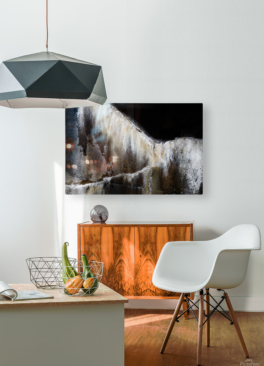 Arion  HD Metal print with Floating Frame on Back