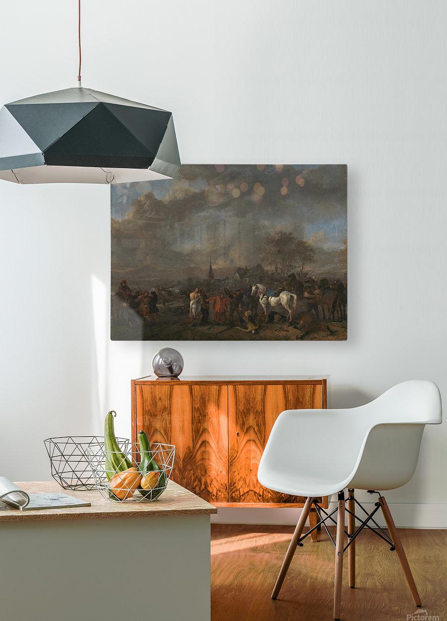 De overwinning der boeren Rijksmuseum  HD Metal print with Floating Frame on Back