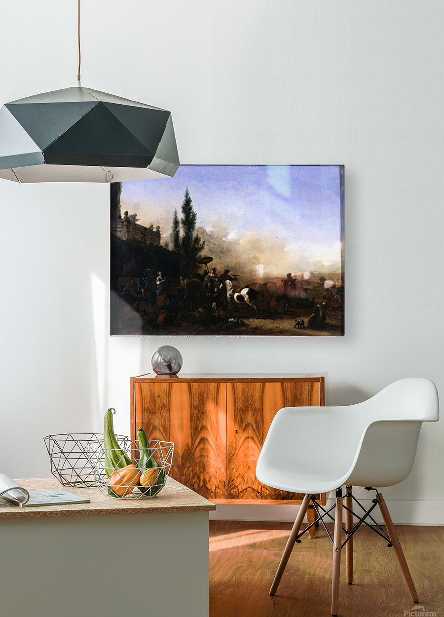 The Return from Hawking  HD Metal print with Floating Frame on Back