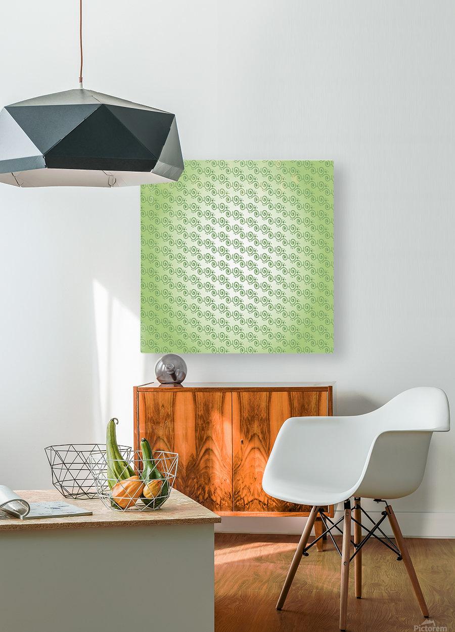 Design Art  HD Metal print with Floating Frame on Back