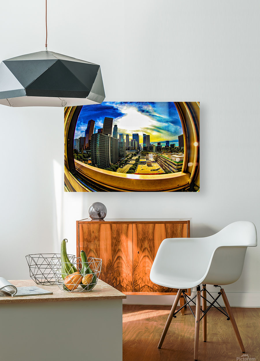 Beyond the Frame   HD Metal print with Floating Frame on Back