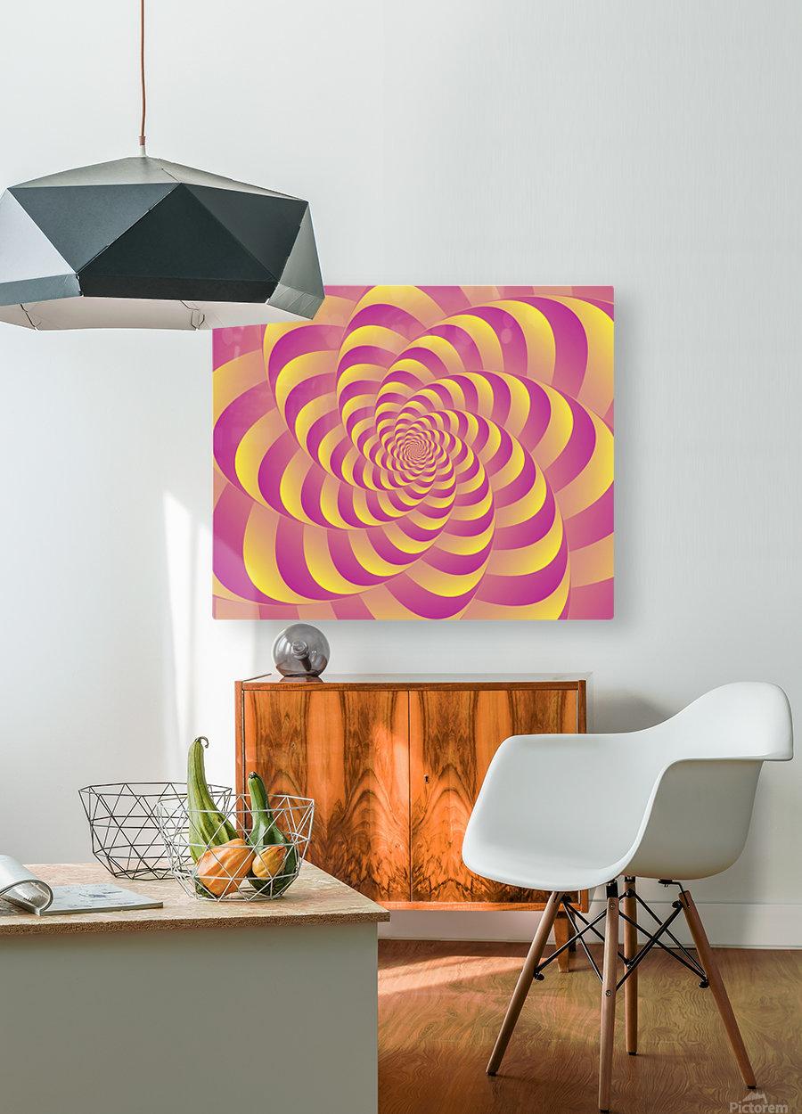 Lollipop   HD Metal print with Floating Frame on Back