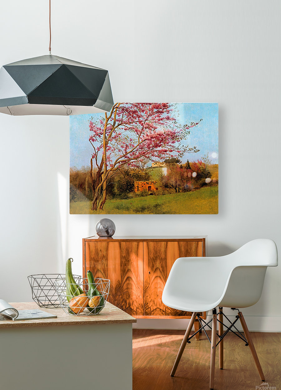 BLOSSOM TREE_OSG  HD Metal print with Floating Frame on Back