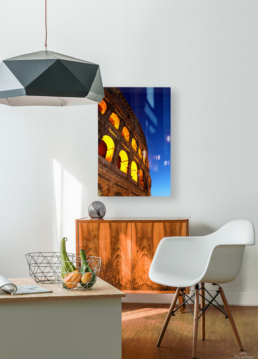 R O M E - Italy  HD Metal print with Floating Frame on Back
