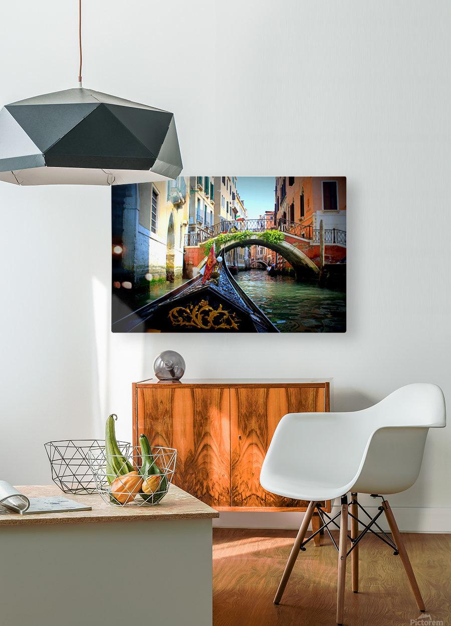 V E N I C E - Italy  HD Metal print with Floating Frame on Back