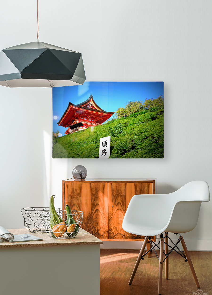 J A P A N  HD Metal print with Floating Frame on Back