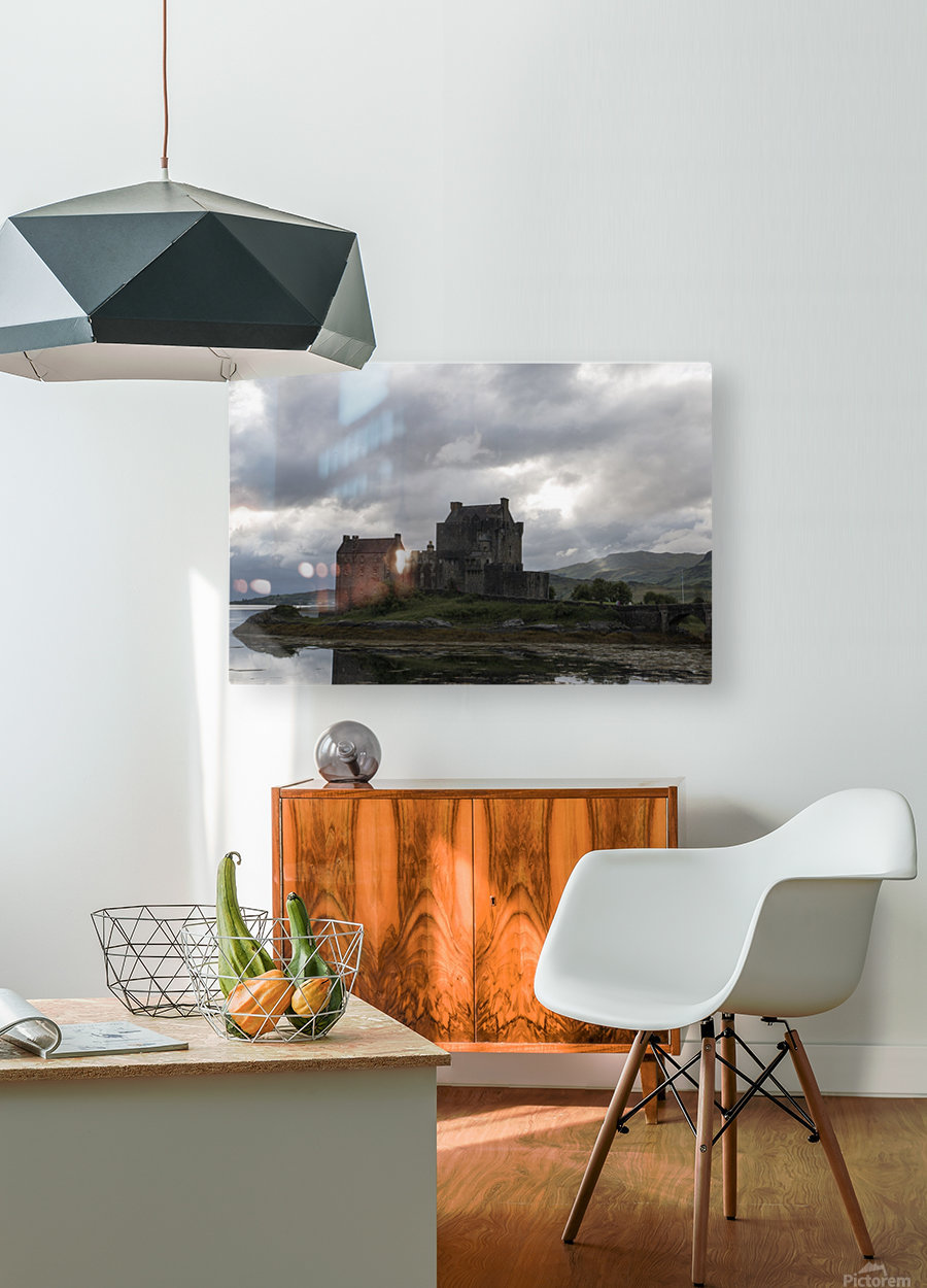 Eilean Donan Castle  HD Metal print with Floating Frame on Back