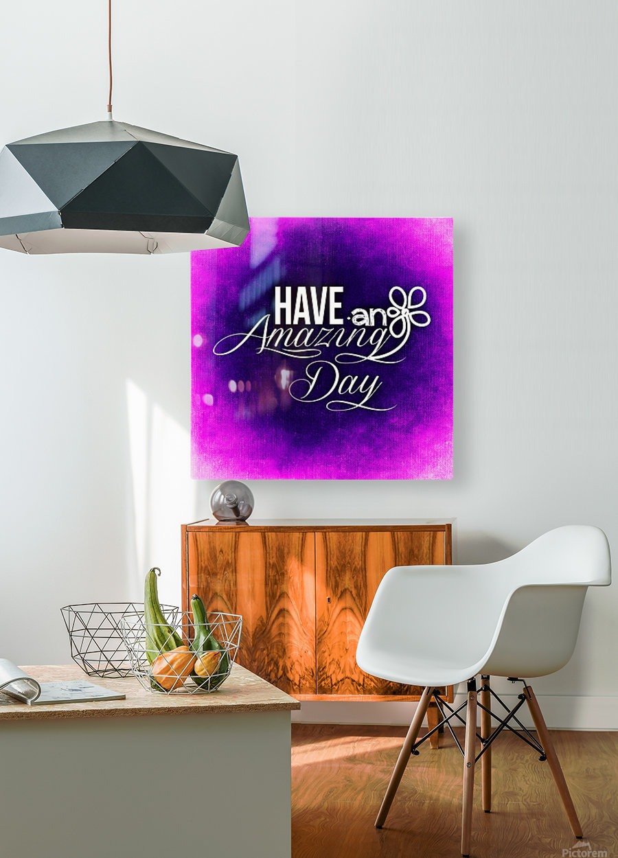 AMAZING DAY 04_OSG  HD Metal print with Floating Frame on Back