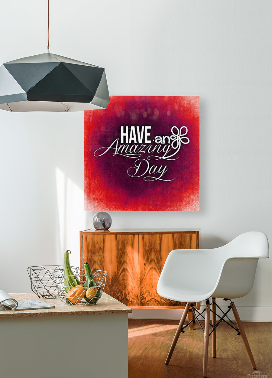 AMAZING DAY 05_OSG  HD Metal print with Floating Frame on Back